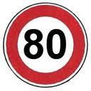 La vitesse limitée à 80 km/h sur certaines routes