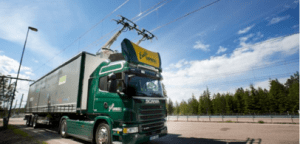 Première route électrique au monde